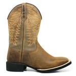 Bota Texana Masculina Marconi 723 Crazy Horse Amendoa