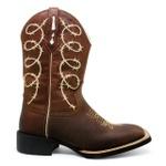 Bota Texana Feminina Marconi 7804 Crazy Horse Sela