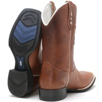 Bota Texana Masculina High Country 0407 Atlanta Havana