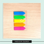 Marcador de Páginas colorido