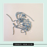 Corrente de Bolinhas - Níquel 2,5 mm