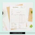 Miolo para Caderno - Pedidos