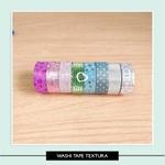 Fita Adesiva Texture - Washi Tape