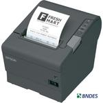Impressora de Cupom Termica c/Guilhotina TM-T88V (Não Fiscal) USB e SERIAL Grafite