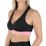 Top Ascension Marisa Feminino - Preto e Rosa