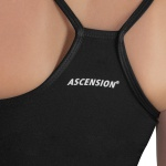 Top Ascension Suzy feminino - Preto e Rosa