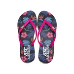 Chinelo Tropical Ascension Feminino - Preto e Pink