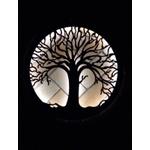 Luminária de Parede Mandala Árvore da Vida