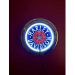 Relógio Luminária Harley Davidson Neon