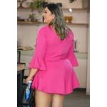 Macaquinho Glam Pink