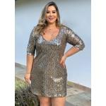 Vestido Gold Glam