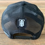 BONÉ ABA CURVA ALL IN - PRETO - ESTILO TRUCKER