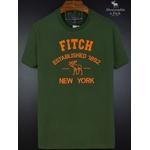 Camiseta Abercrombie Verde/Laranja Fitch