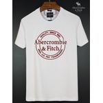 Camiseta Abercrombie Branco Redondo Meio