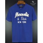 Camiseta Abercrombie Royal/Branco
