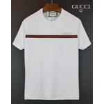 Camiseta Gucci Branca detalhe listra