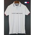 Camisa Gola Polo Tommy Branca