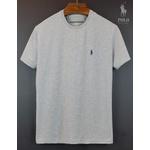 Camiseta Polo Cinza Basica