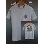 Camiseta Osk Cinza estonada