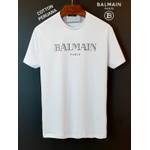 Camiseta Balmain Coton Peruano Branca