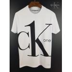 Camiseta CK Branca Letra