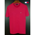 Camiseta Tommy Basica Vermelha