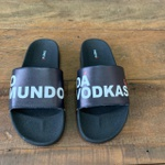 CHINELO SLIDE BRANCO O MUNDO DA VODKAS
