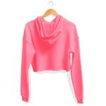 CROPPED CAPUZ ROSA NEON TH