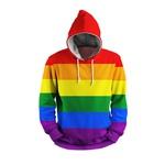 MOLETOM COM CAPUZ LGBTQIA+