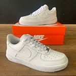 TENIS NK AIR FORCE BRANCO/BRANCO