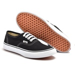 TENIS VNS AUTHENTIC PRETO C/ BRANCO