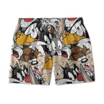 SHORT PRAIA LOONEY TUNES