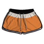 SHORT PRAIA FEMININO YOUNG ORANGE