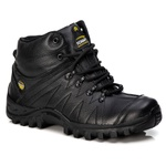 Coturno Adventure Couro Floater Preto Tchwm Shoes