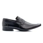Sapato Social Masculino Bico Fino Solado em Borracha
