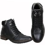 Bota Casual Tchwm Shoes em Couro Legitimo