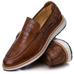 Loafer Premium Couro Estanpado Comfort