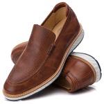 Loafer Premium Couro Furadinho Confort