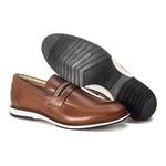 Brogue Premium em Couro Comfort Tchwm Shoes Castor
