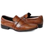 Sapato Social Masculino Fivela em Couro Whisk