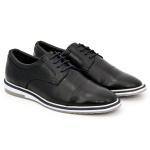 Derby Esporte Fino Tchwm Shoes em Couro Nobre
