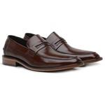Sapato Loafer Premium em Couro Mouro