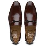 Sapato Loafer Casual Premium em Couro Mouro