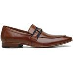 Sapato Loafer Casual Premium em Couro Caramelo