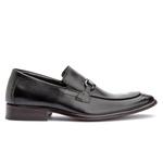 Sapato Loafer com fivela Premium Masculino Solado em Couro