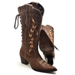 Bota Feminina Country 5075 Cafe
