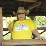 Camiseta TexasKing Feminina Wild West Desert Amarela