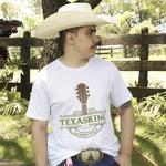Camiseta TexasKing Violão Country Stile