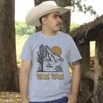 Camiseta TexasKing Desert Wild West Cinza