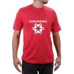 Camiseta Agronomia Vermelha